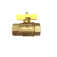 Brass Gas Ball Valve with Butterfly Handle/En331 Standard